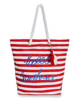 Hello Sunshine Beach Bag