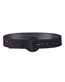 Circle Buckle Jeans Belt