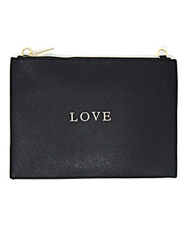 Johnny Loves Rosie Love Document Pouch