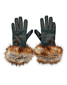 Joe Browns Faux Fur Trim Gloves