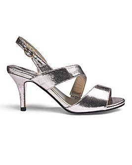 Heavenly Soles Wrap Around Evening Shoes Wide EEE Fit