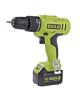 Guild 1.3AH Cordless Drill Driver