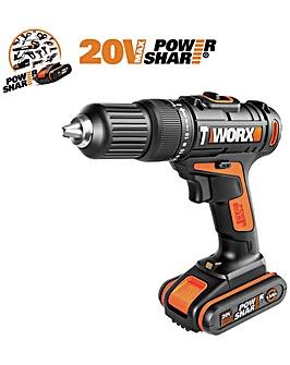 WORX 18V 20V MAX Cordless Hammer Drill