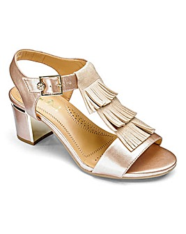 Van Dal Leather Sandals Wide EE Fit