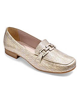 Lotus Trim Loafers Wide E Fit
