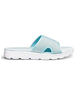 Open Toe Leisure Slide Mules EEE Fit