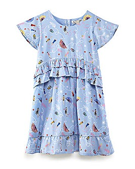Yumi Girl Pretty Tiered Ruffle Dress