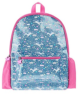 Accessorize Glitter Unicorn Backpack