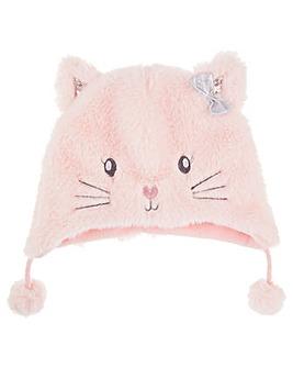 Accessorize Fluffy Cat Chullo