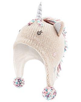 Accessorize Sparkle Unicorn Chullo