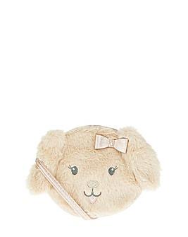 Accessorize Mia Puppy Fluffy Bag