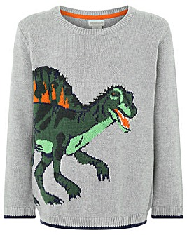 Monsoon Dwaine Dino Knitted Jumper