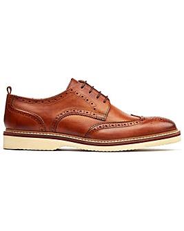 Base London Marcello Lace Up Brogue Shoe