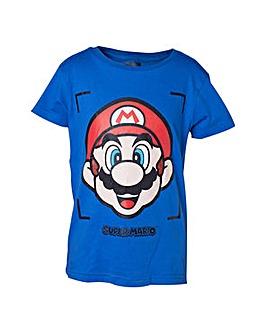 Super Mario Bros. Mario Face T-Shirt