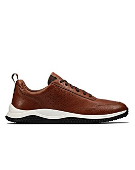 Clarks Puxton Lace Wide Fitting Shoes