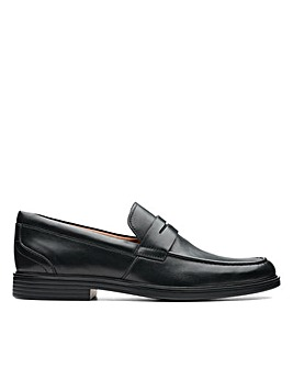 Clarks Unstructured Un Aldric Step Wide Fitting Shoes