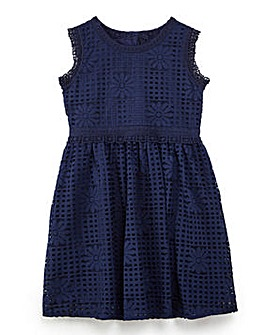 Yumi Girl Lace Asymmetric Dress
