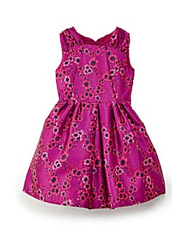 Yumi Girl Jacquard Skater Dress
