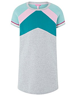 Monsoon Candy Colour Block Sweat Dress