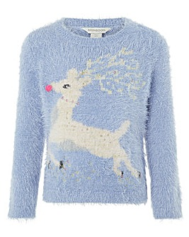 Monsoon Roxy Reindeer Jumper