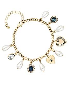 Mood Crystal Charm Bracelet