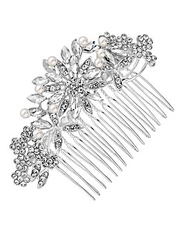 Mood Floral Hair Comb