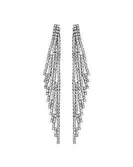 Mood Diamante Statement Earring