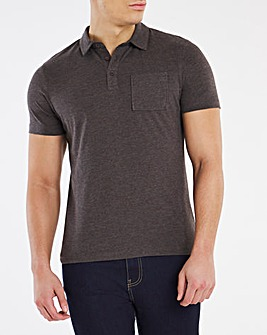 Stretch Jersey Polo Long