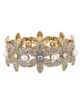 Mood Floral Statement Bracelet