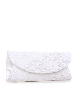 Paradox London Pink Dorothy Clutch Bag