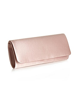 Paradox London Pink Shadow Clutch Bag