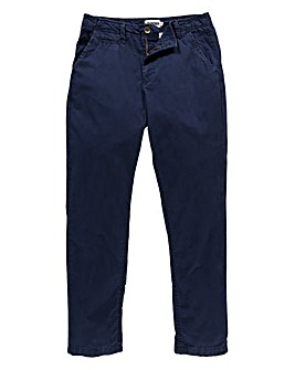 Capsule Navy Stretch Tapered Chino 31in