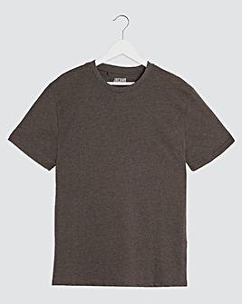 Charcoal Crew Neck T-shirt Regular