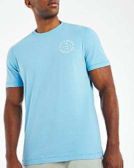 Santa Monica Graphic T-Shirt Long