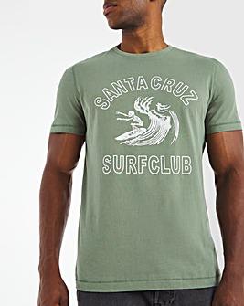Santa Cruz Surf Club Graphic T-Shirt L