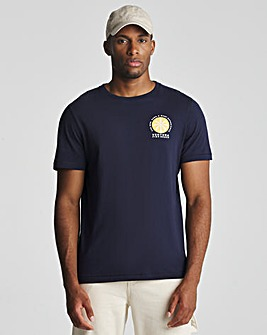Ventura Chest Embroidery T-Shirt Long