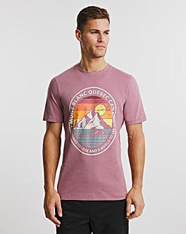 Mont Blanc Graphic T-shirt L