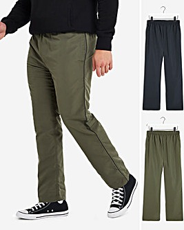 Pack of Two Woven Joggers 29