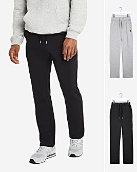 Pack of Two Open Hem Jersey Joggers 29