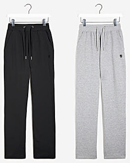 Pack of Two Open Hem Joggers 29
