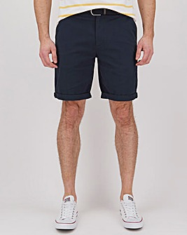 Belted Chino Short