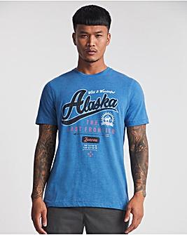 Alaska Graphic T-shirt L