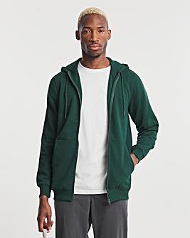 Forrest Green Full Zip Hood Long