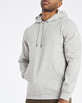 Grey Marl Overhead Hood Long