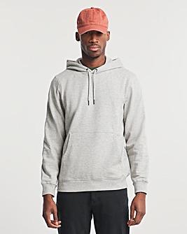 Grey Marl Overhead Hood Long