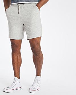 Grey Marl Fleece Shorts