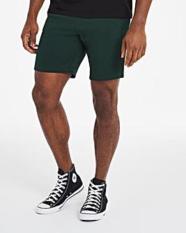 Green Fleece Shorts
