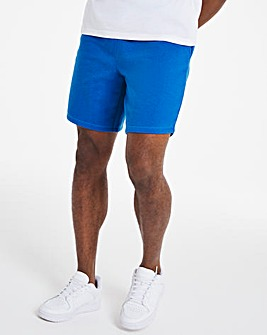 Blue Fleece Shorts