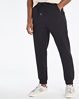Black Tapered Joggers