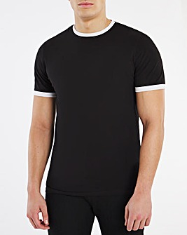 Core Tipped Ringer T-Shirt Long